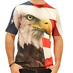 Eagle Flag Sublimated T-Shirt