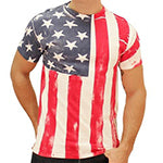 American Flag Vertical T-Shirt