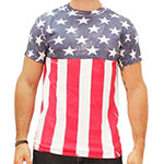 Hand Printed Stars and Stripes T-shirt