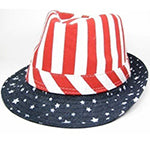 Stars and Stripes Fedora