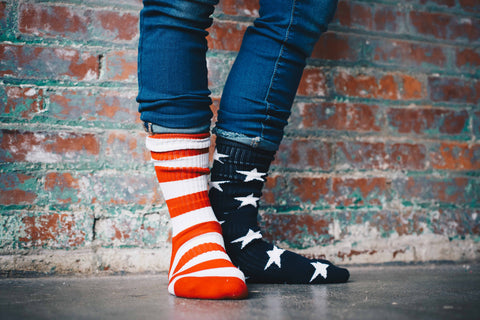 stars and stripe socks