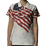 U.S. Flag / Independence Ladies' Polo Shirt