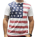 Men's Abstract American Flag T-Shirt