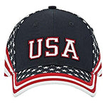 USA Flag Hat - NavyAC
