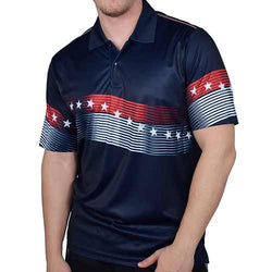Mens American Classic Polo Shirt - Navy