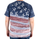Load image into Gallery viewer, Stars and Stripes T-Shirt and Mask Set Made in the USA