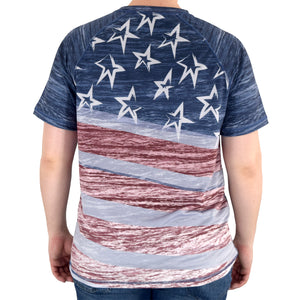 Stars and Stripes T-Shirt and Mask Set Made in the USA