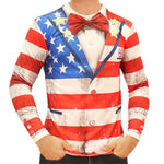 Load image into Gallery viewer, Americana Tuxedo Shirt - The Flag Shirt