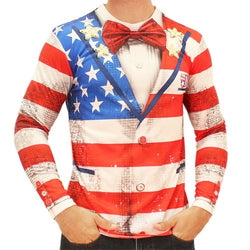 Americana Tuxedo Shirt - The Flag Shirt