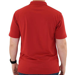Mens Patriotic Classic Polo Shirt Red - The Flag Shirt