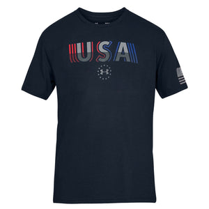 Under Armour Freedom USA Undefeated Navy