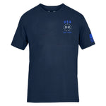 Load image into Gallery viewer, Under Armour USA Emblem t-shirt navy - the flag shirt