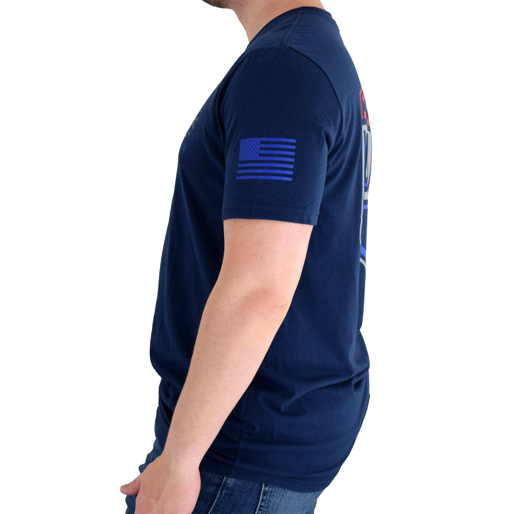 Under Armour USA Emblem T-Shirt Navy
