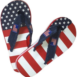 Mens American Flag Flip Flop - The Flag Shirt