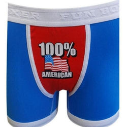 100 Percent American Boxer Brief - The Flag Shirt