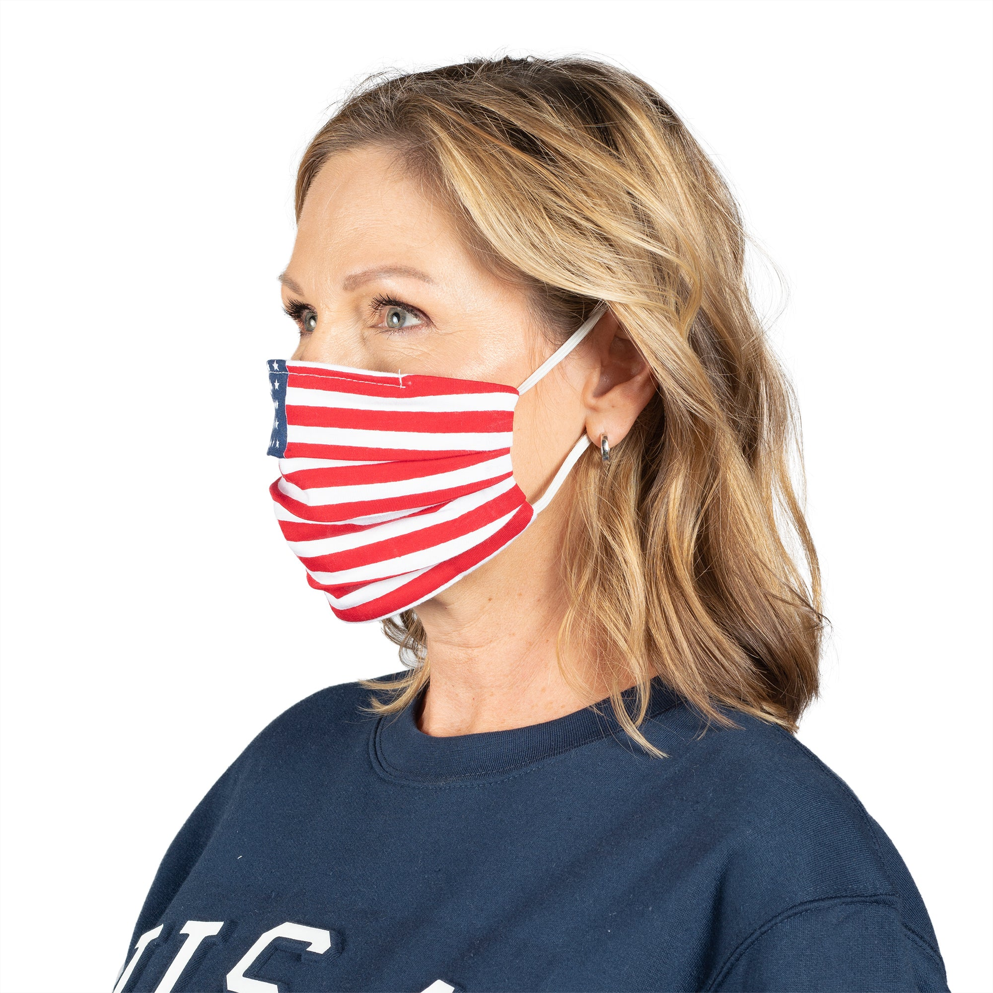 Patriotic Facemask 2-Pack Combo - the flag shirt