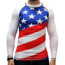 USA American Compression Jersey - The Flag Shirt