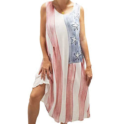 American Beach Cover up - The Flag Shirt