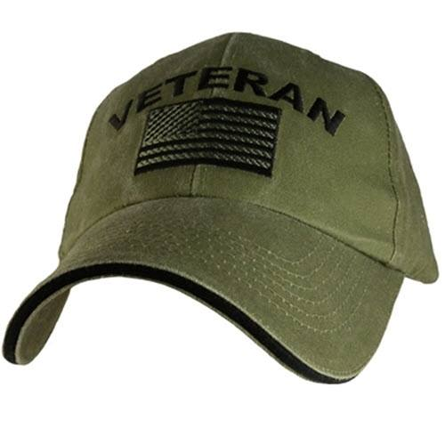 Veteran USA Hat - The Flag Shirt