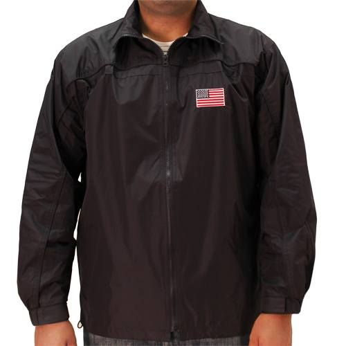 Patriotic Windbreaker Jacket - The Flag Shirt