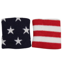 Stars Stripes Wristbands - The Flag Shirt