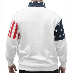 American Flag Mens Full Zip Sweatshirt - The Flag Shirt