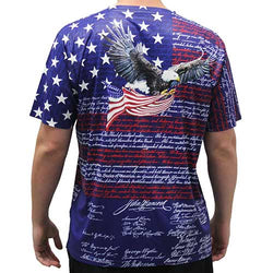 Men's Short Sleeve Sublimation T-Shirt In Navy