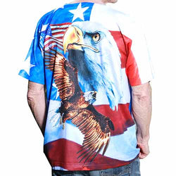 Mens Short Sleeve Sublimation T-Shirt Multi