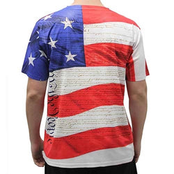 Men's Short Sleeve Sublimation T-Shirt Multi - The Flag Shirt
