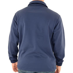 Mens Patriotic Full Zip Jacket Navy
