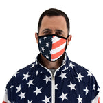 Load image into Gallery viewer, USA Flag Face Covering Mask