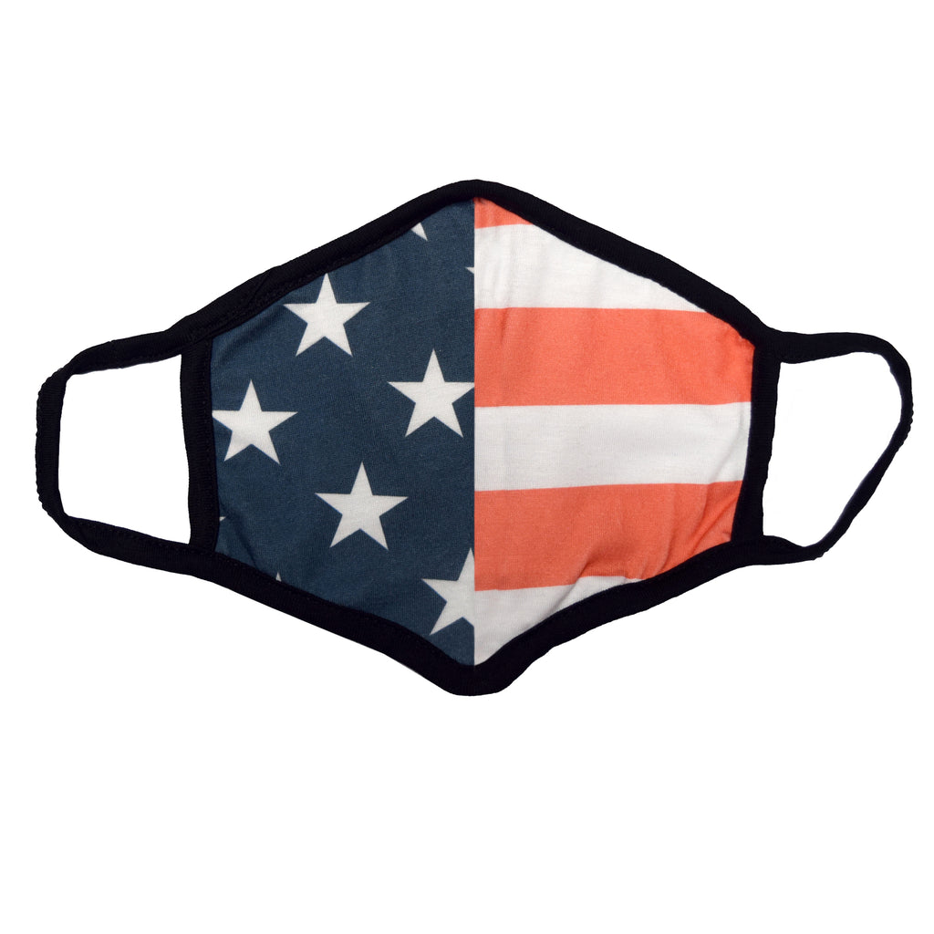 usa flag face covering mask - the flag shirt