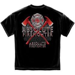 Absolute Firefighter Mens T-Shirt - The Flag Shirt