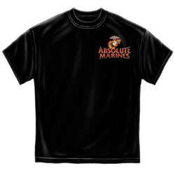 Absolute Marines Mens T-Shirt - The Flag Shirt