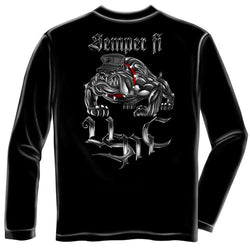 Semper Fi Mens Long Sleeve T-Shirt