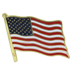 American Flag Lapel Pin - The Flag Shirt
