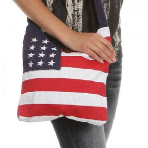 Patriotic USA Flag Crossbody Purse - theflagshirt
