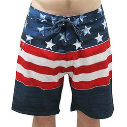 Men's American USA Flag Board Shorts - The Flag Shirt