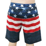Load image into Gallery viewer, Men's American USA Flag Board Shorts - The Flag Shirt
