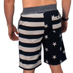 Load image into Gallery viewer, Mens American Stars and Stripes Jogger Shorts - The Flag Shirt