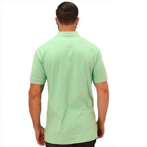 Biscayne Bay Embroidered Mens Polo Kiwi - The Flag Shirt