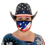 Load image into Gallery viewer, Stars and Stripes Face Covering  Mask