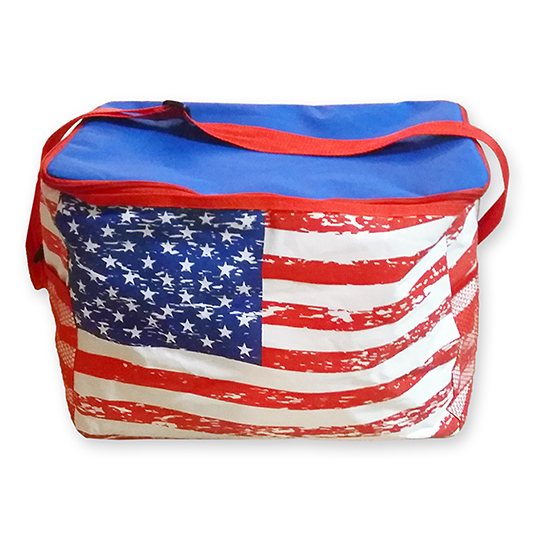 American Flag Cooler Tote - the flag shirt