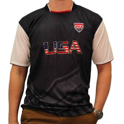 Patriotic USA Jersey in Navy - The Flag Shirt