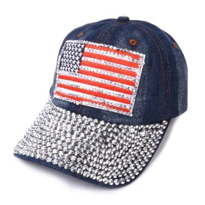 Women's American Flag Hats