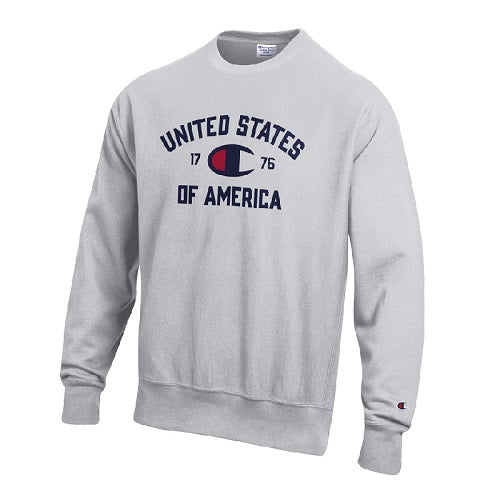 United States of America Champion Men's Sweatshirt. EST. 1776 - The Flag Shirt