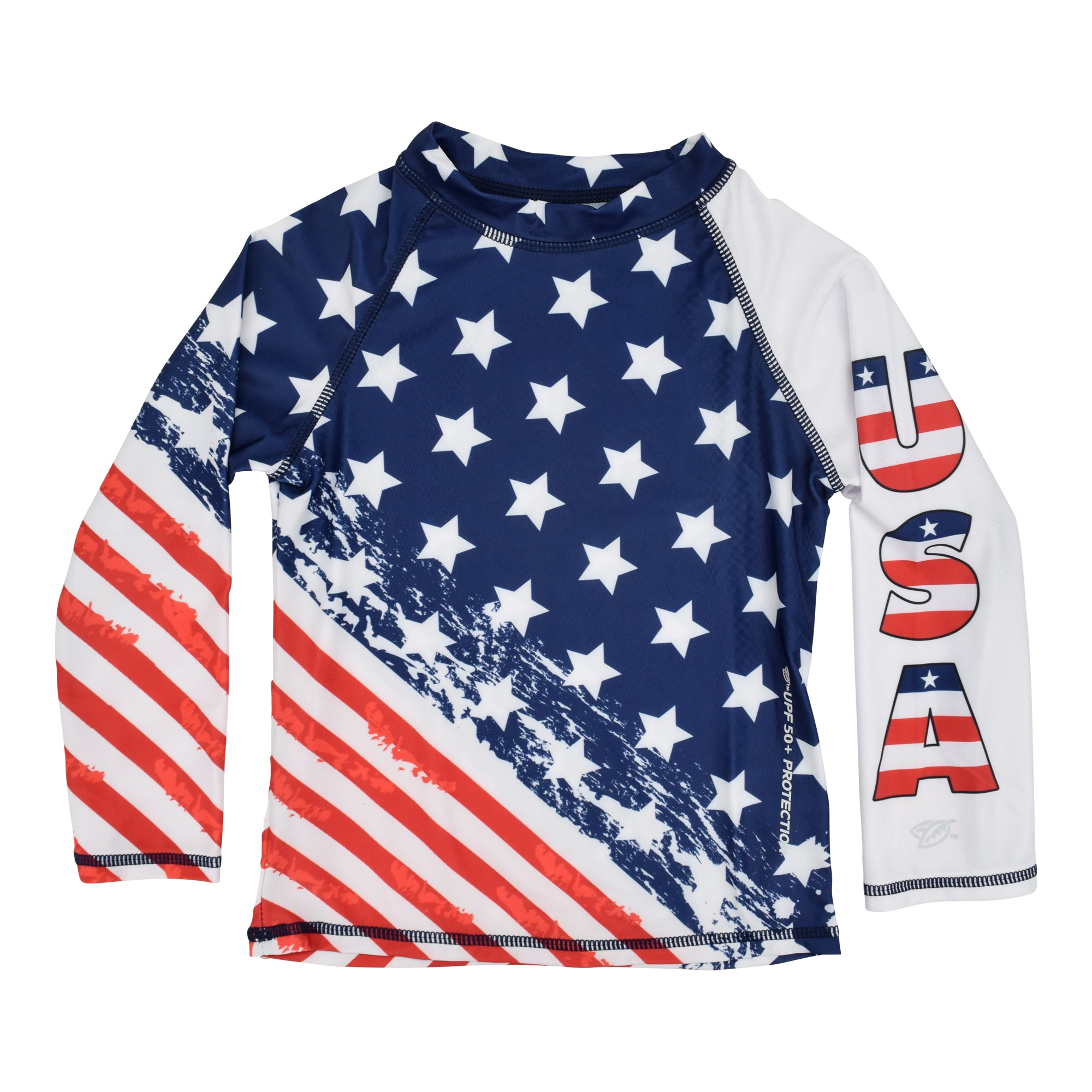 American Flag Toddler 3 pieces set Swimsuit - The Flag Shirt