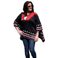 Ladies Cape Black - One Size