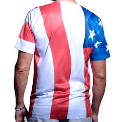 Patriotic American Flag T-Shirt
