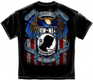Patriotic POW MIA Mens T-Shirt MM116 - The Flag Shirt